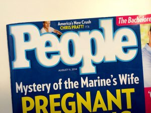 August 11 issue of People